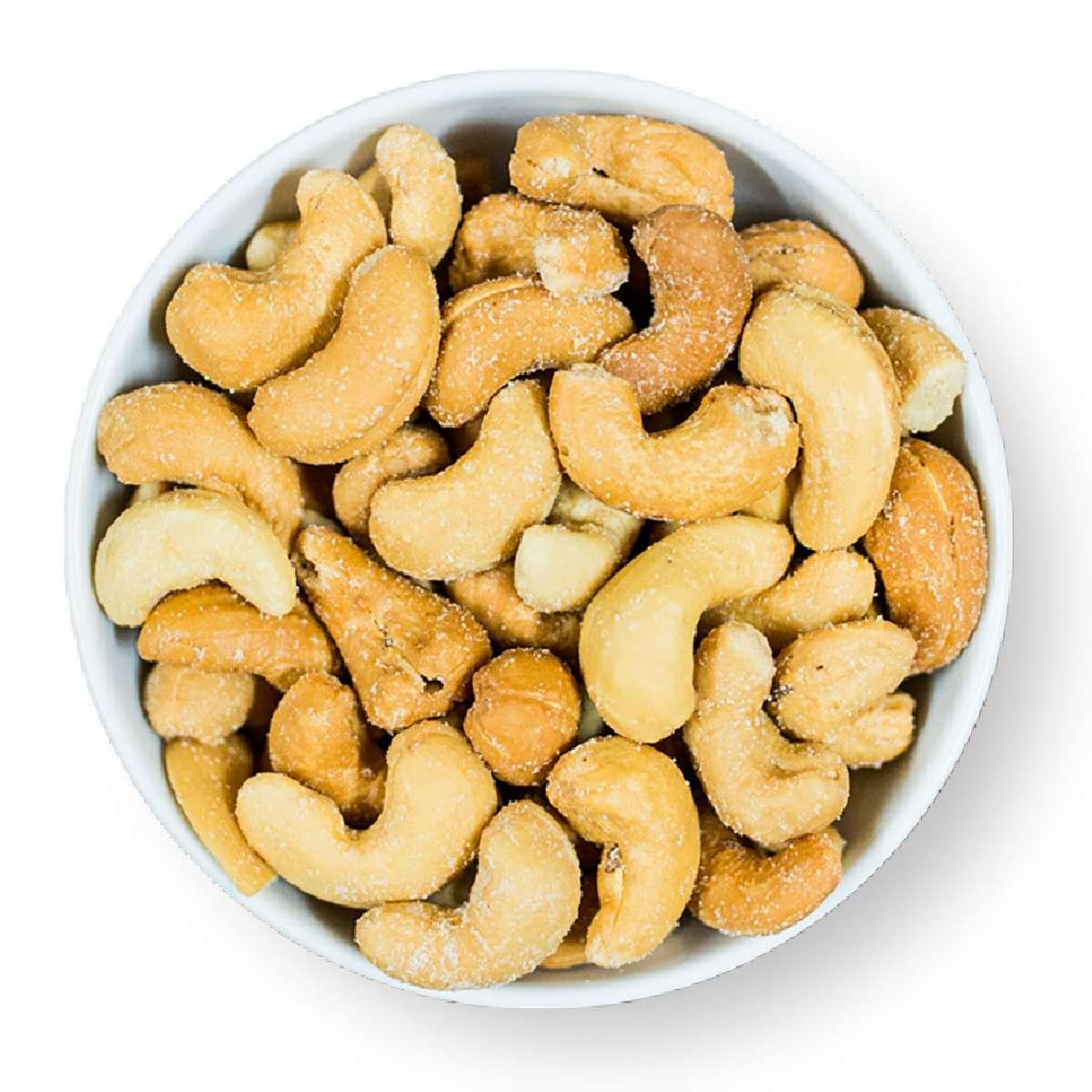 Cashewkerne, geröstet und gesalzen | Nüsse