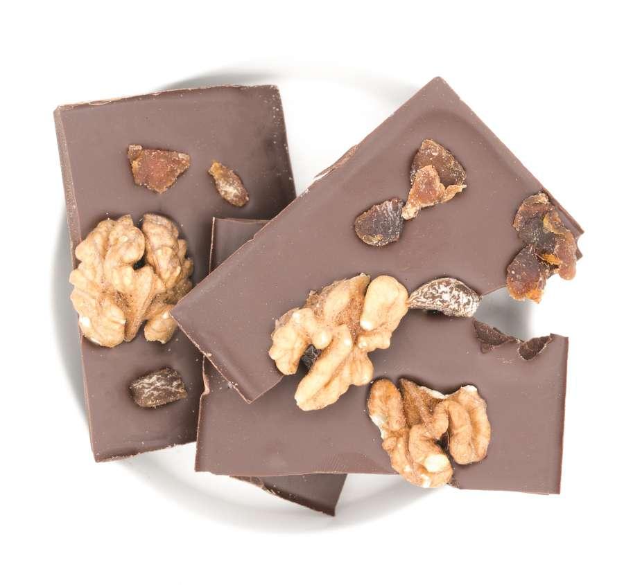 Danke, Danke - Bio Schokolade - Walnüsse Aprikosen | Snacks