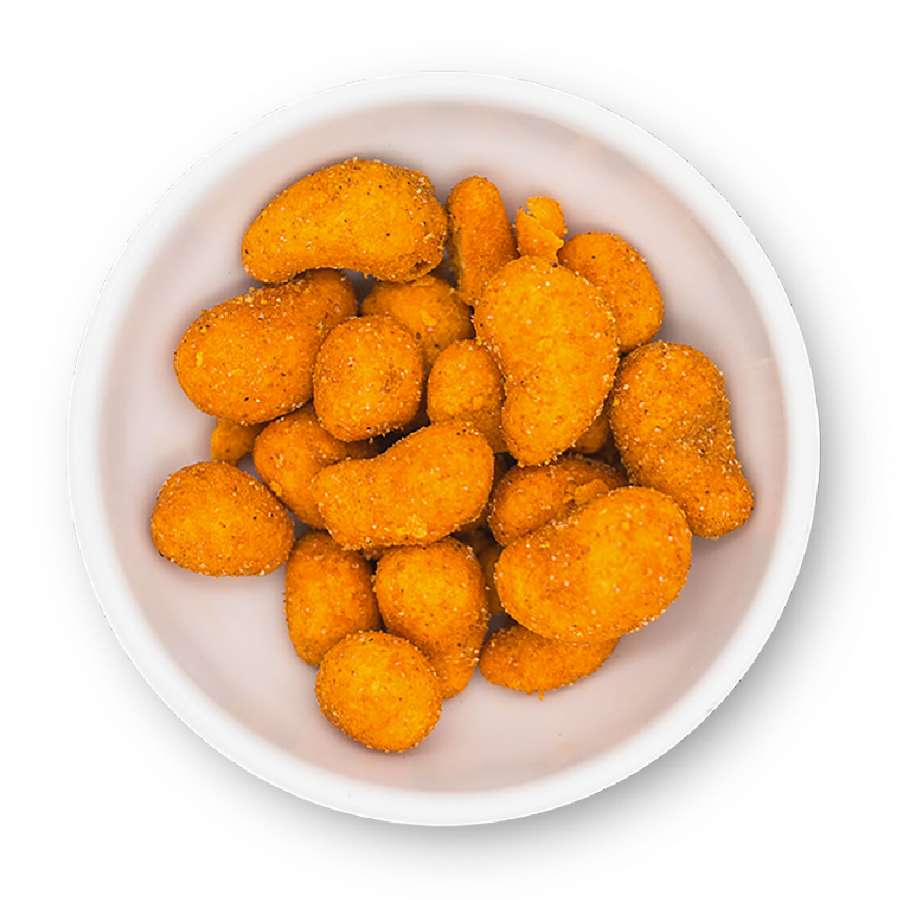 Cashews im Chili-Mantel | Cashewkerne