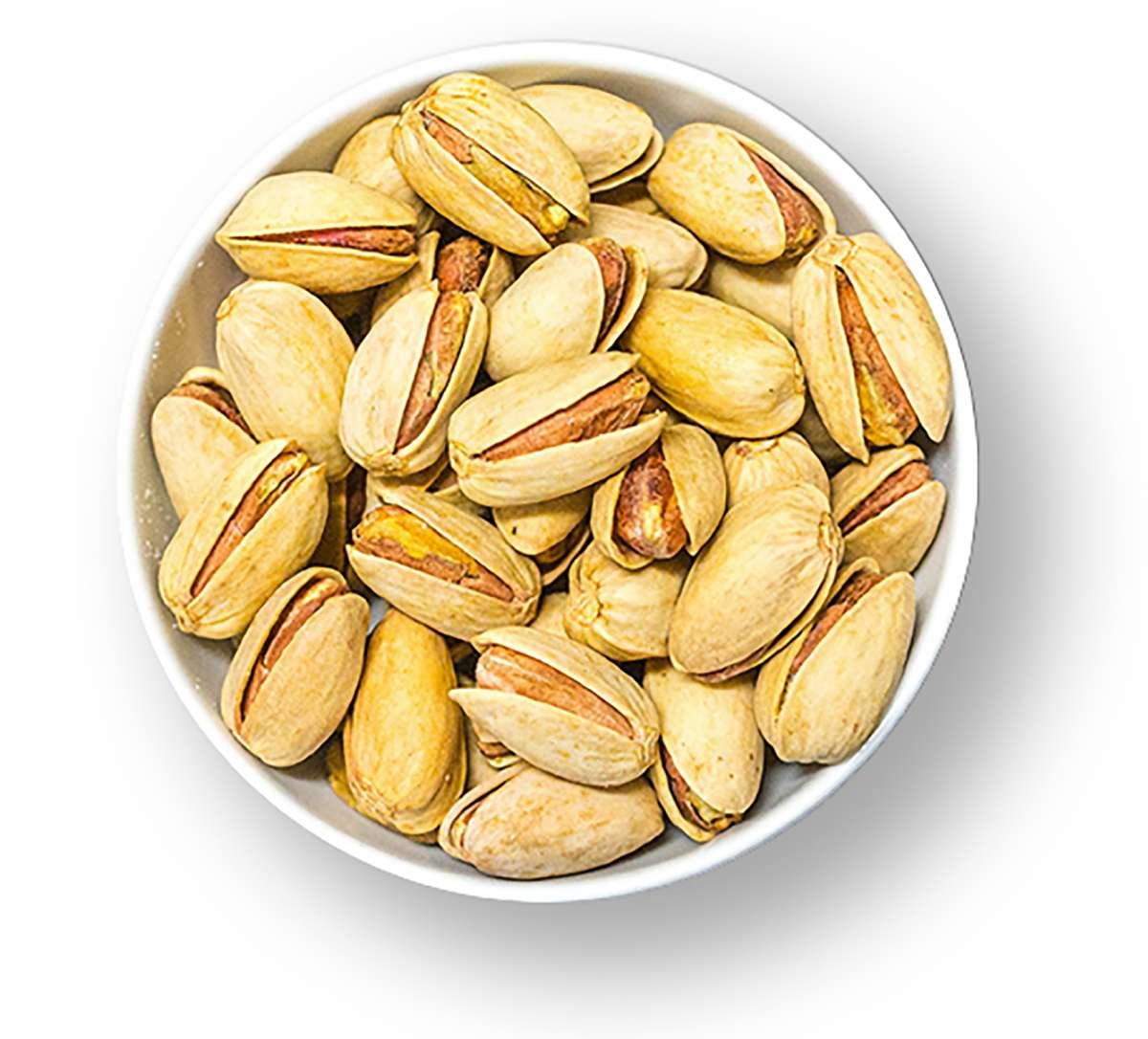 Pistazien mit Safran und Limette | Nüsse