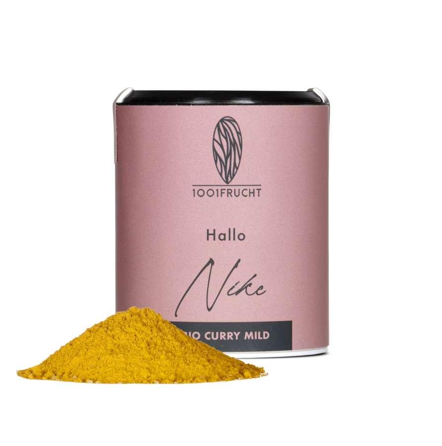 Bio Curry, Englisch - mild - Nike | Gewürze
