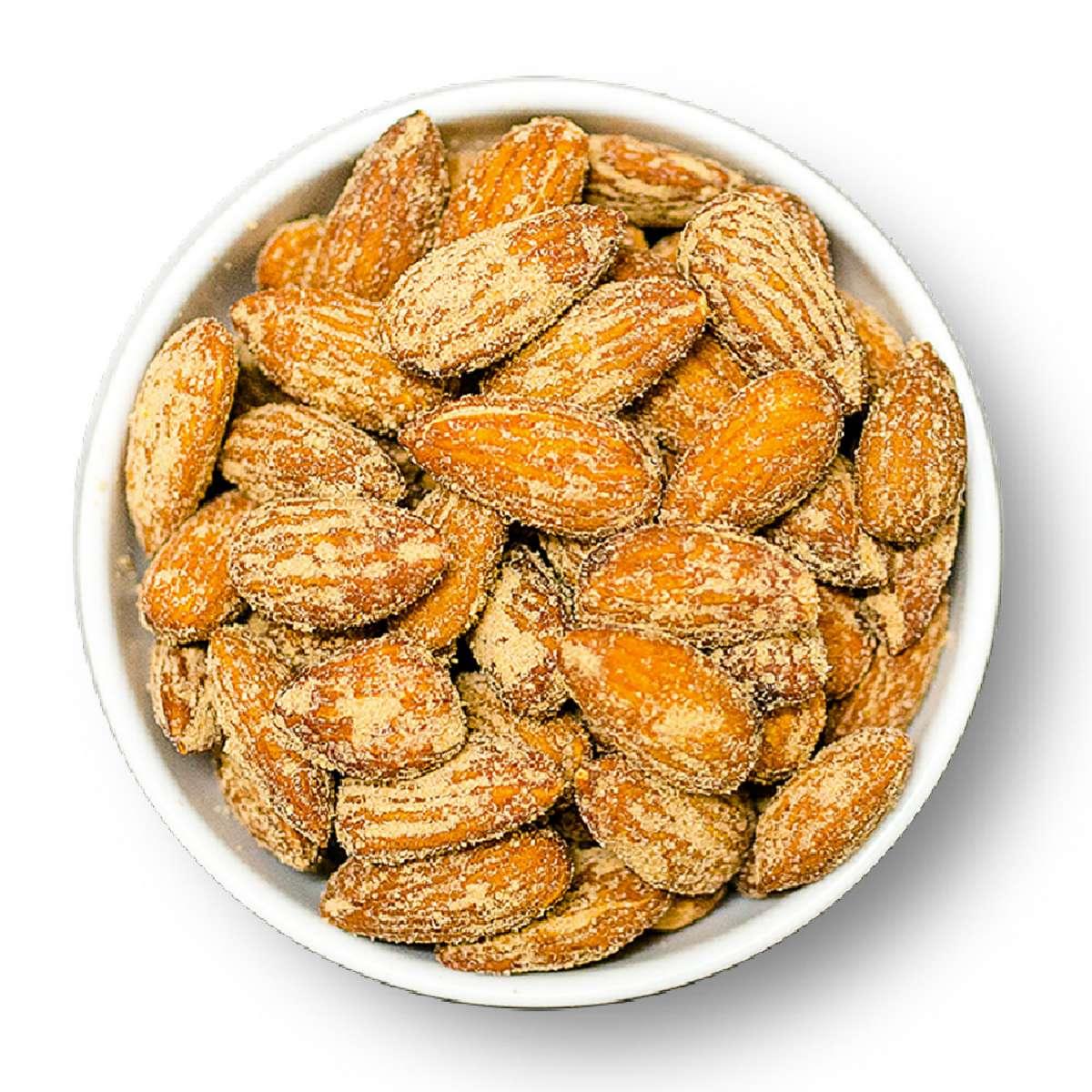 Mandeln, mit edlem Speck geräuchert | Mandeln
