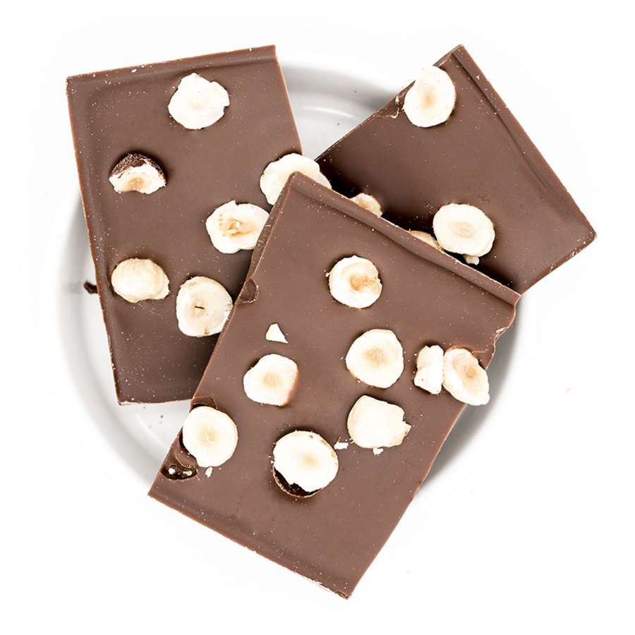 Hello - Bio Schokolade - Haselnüsse | Snacks