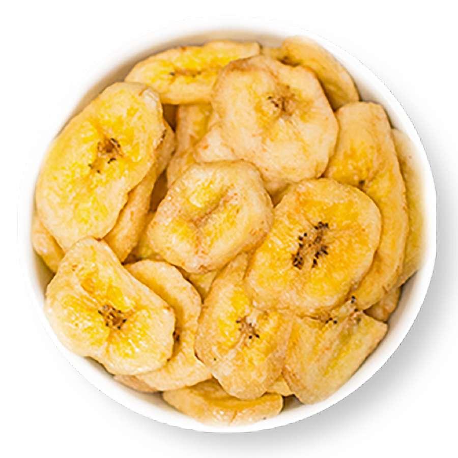 Bananenchips ohne Zuckerzusatz | Getrocknete Bananen