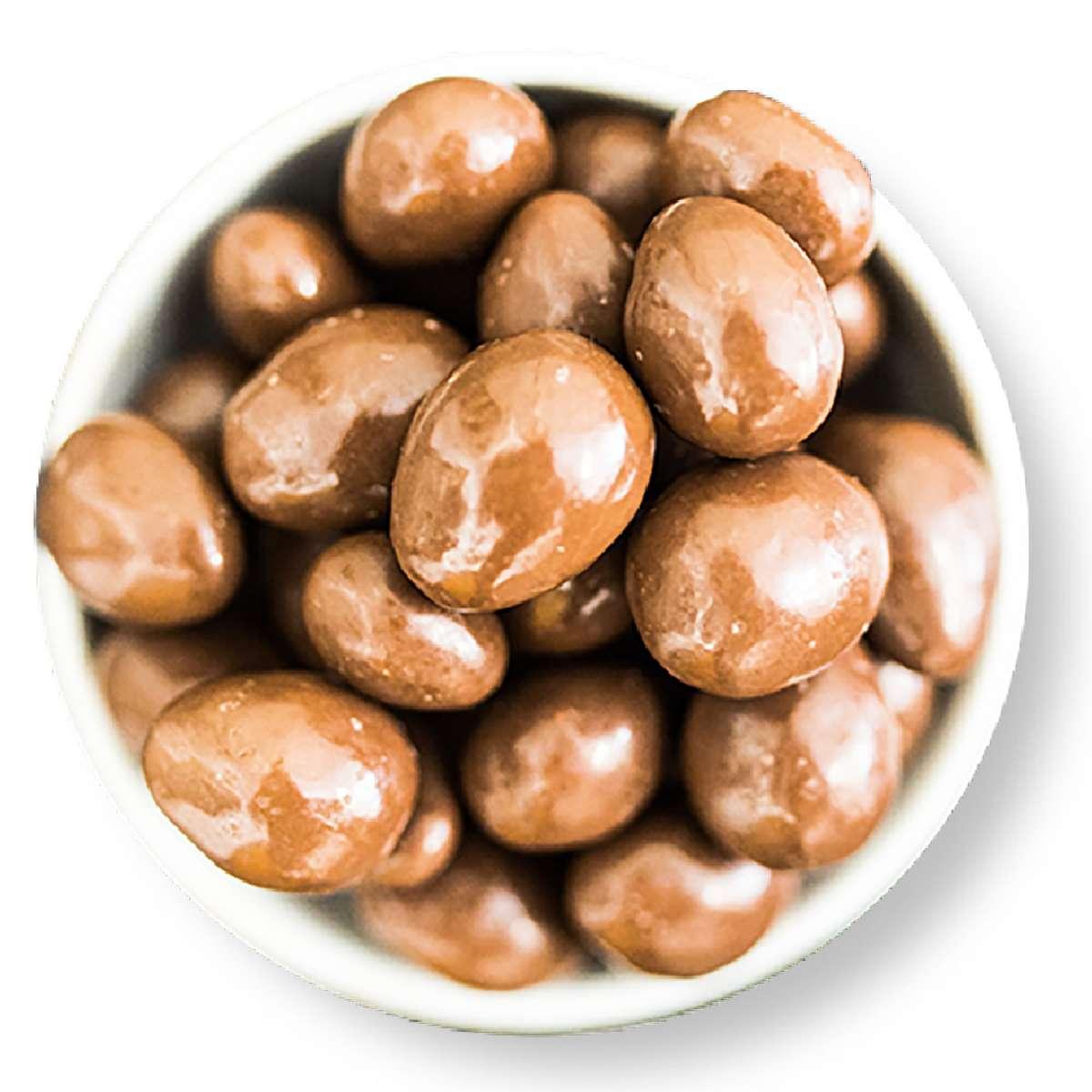 Mandeln mit edler Vollmilchschokolade | Schokolade