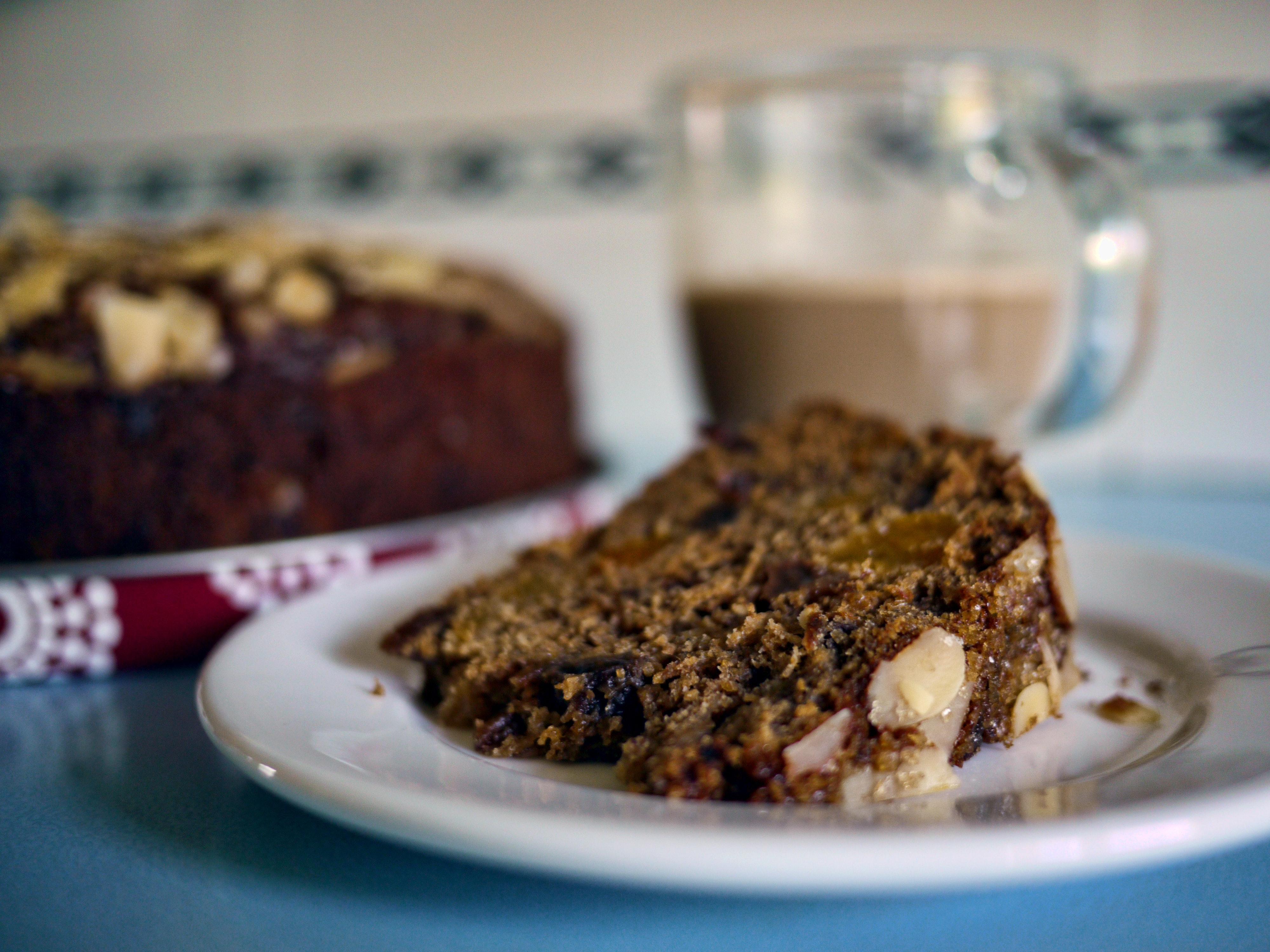 Dunkler Schokoladen Nuss Kuchen 1001 Frucht