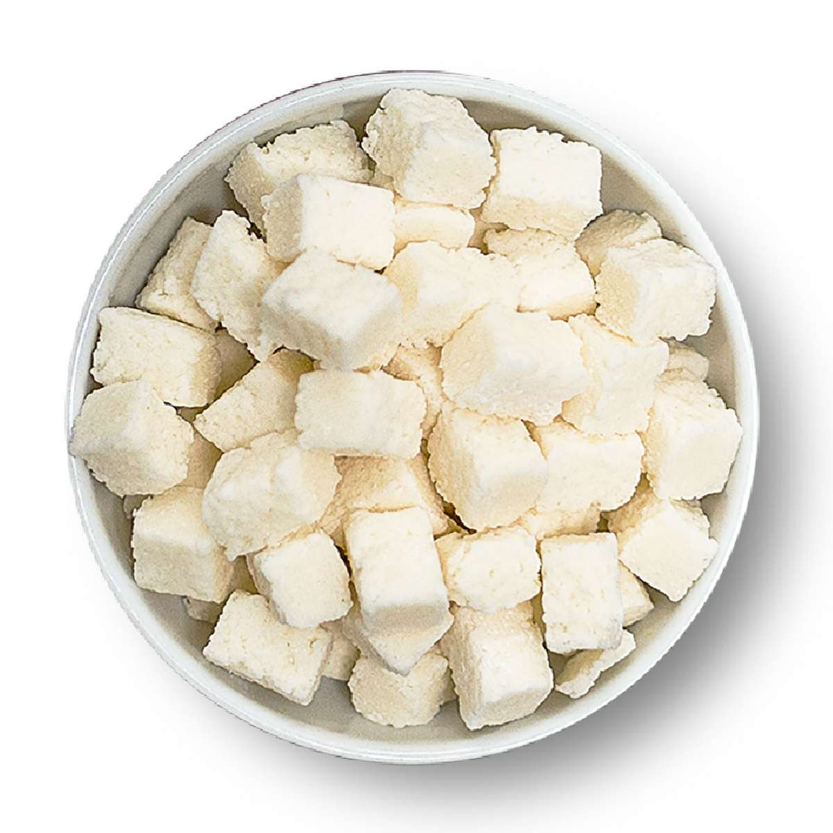 Kokos Würfel - kandiert   Nüsse