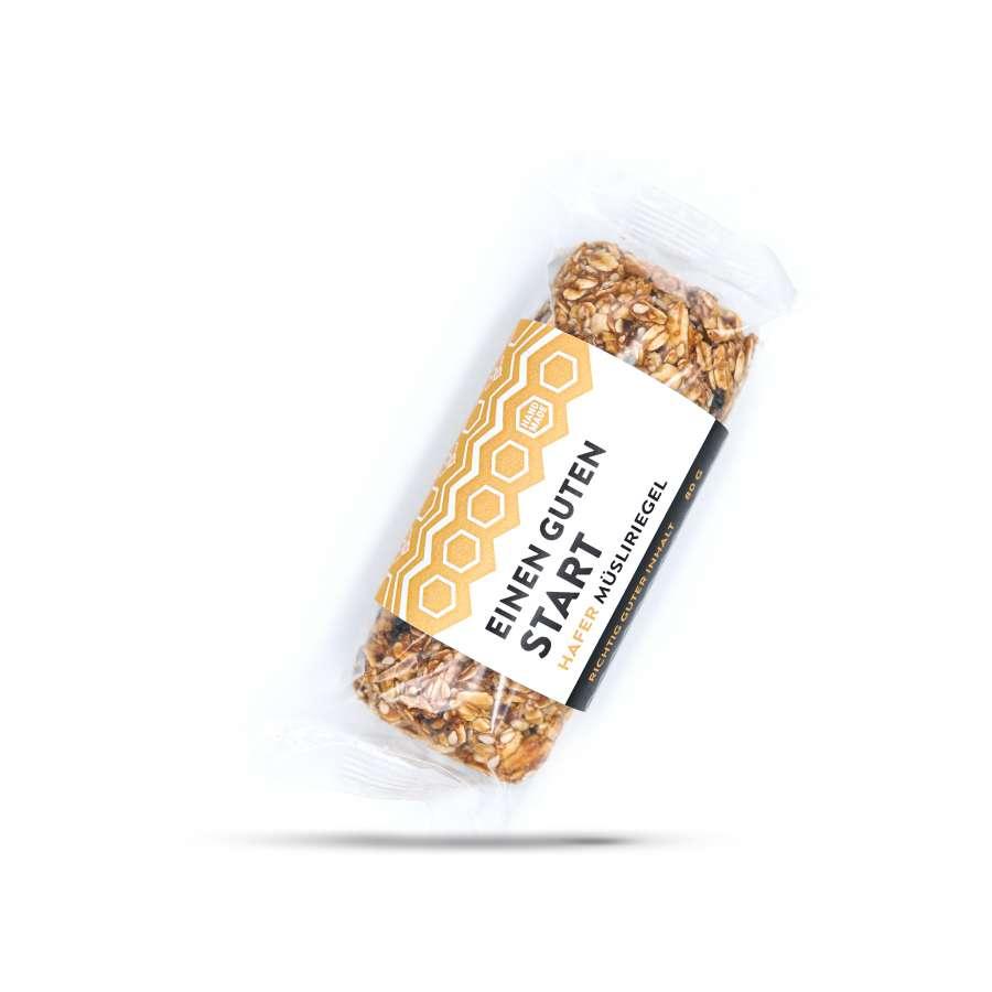 Müsliriegel mit Honig – Einen guten Start | Müsliriegel