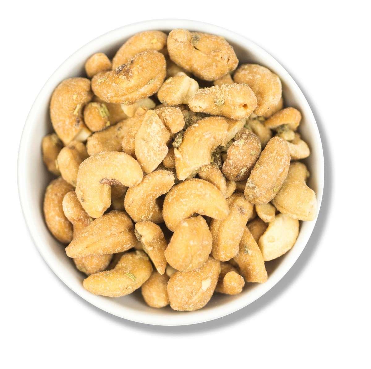 Cashewkerne mit calabria Oliven   Cashewkerne