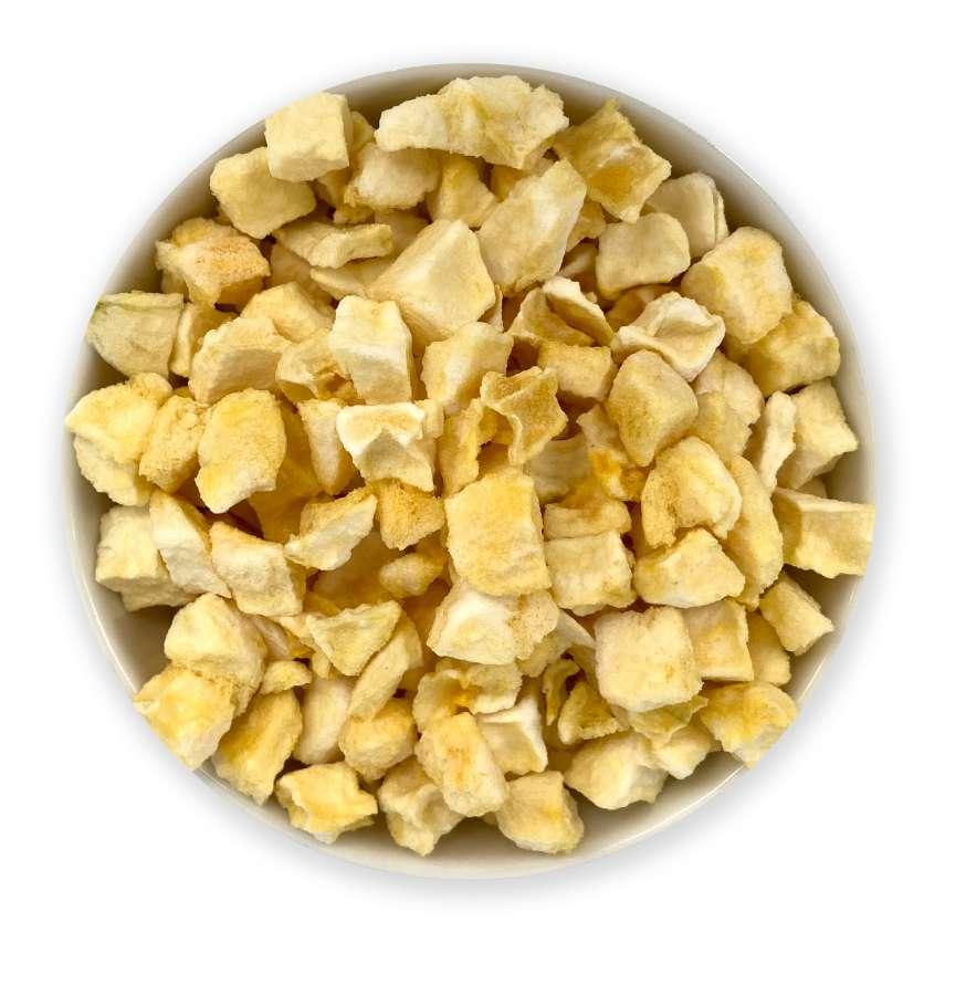 Bio gefriergetrocknete Mangostücke | Trockenfrüchte