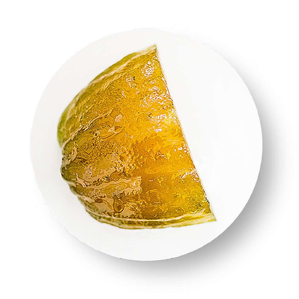 Zitronat-Scheiben - kandiert   Backzeit