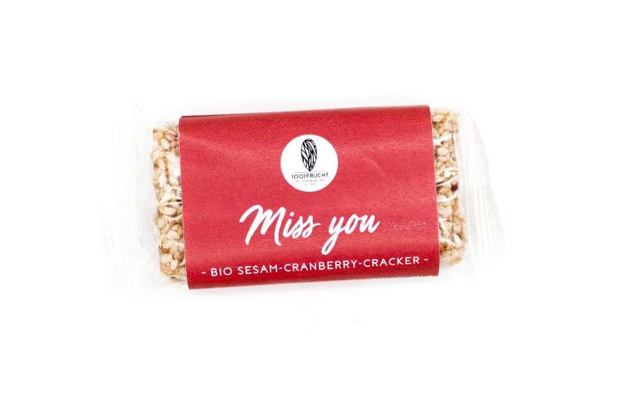 Bio Miss You Cracker | Snacks