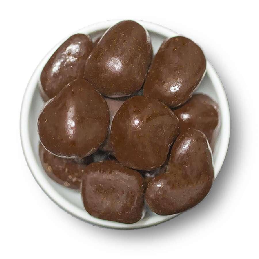 Ingwer Pralinen mit Zartbitterschokolade | Snacks