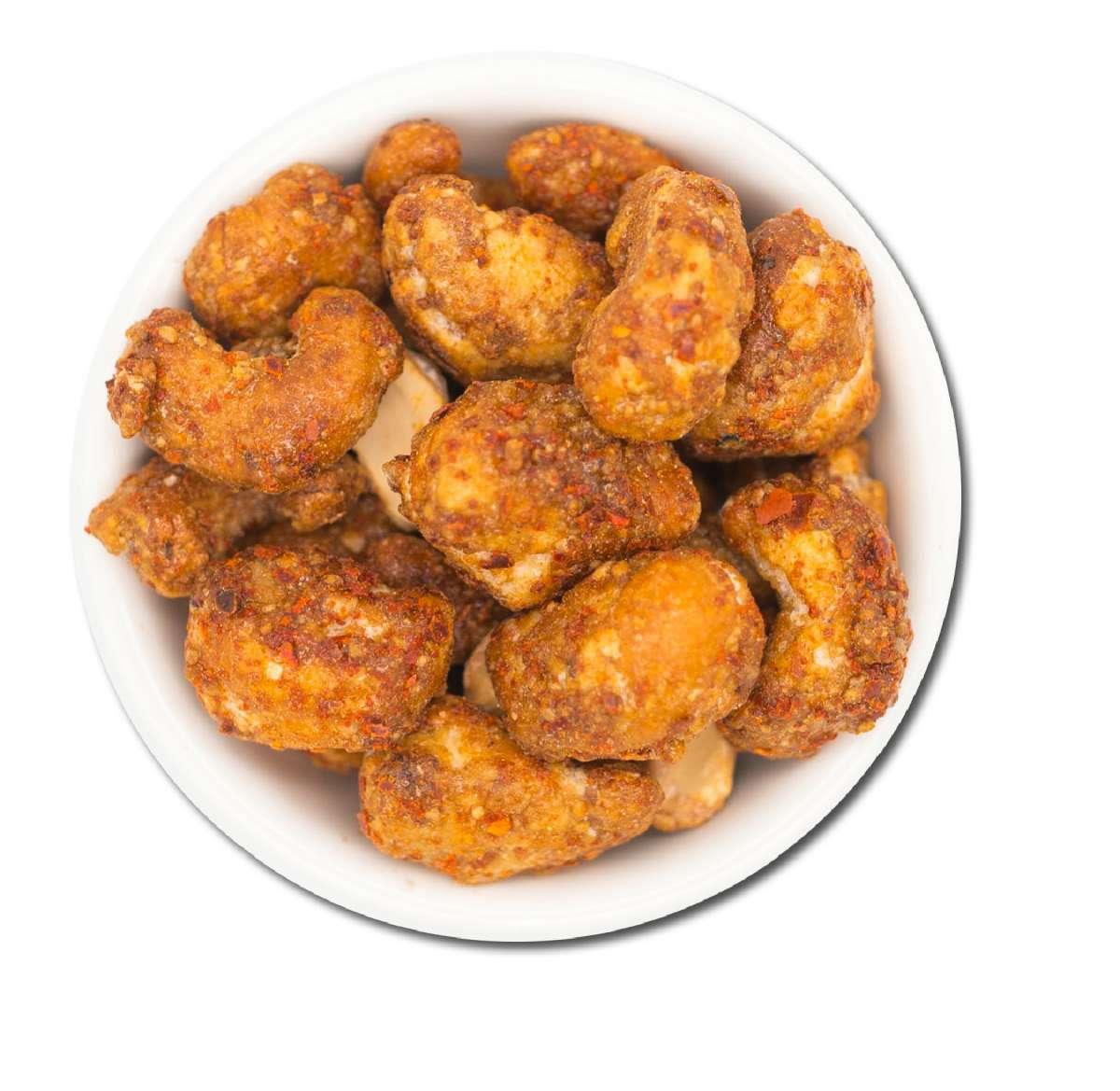 Cashewkerne mit Honig und Chilipfeffer | Nüsse
