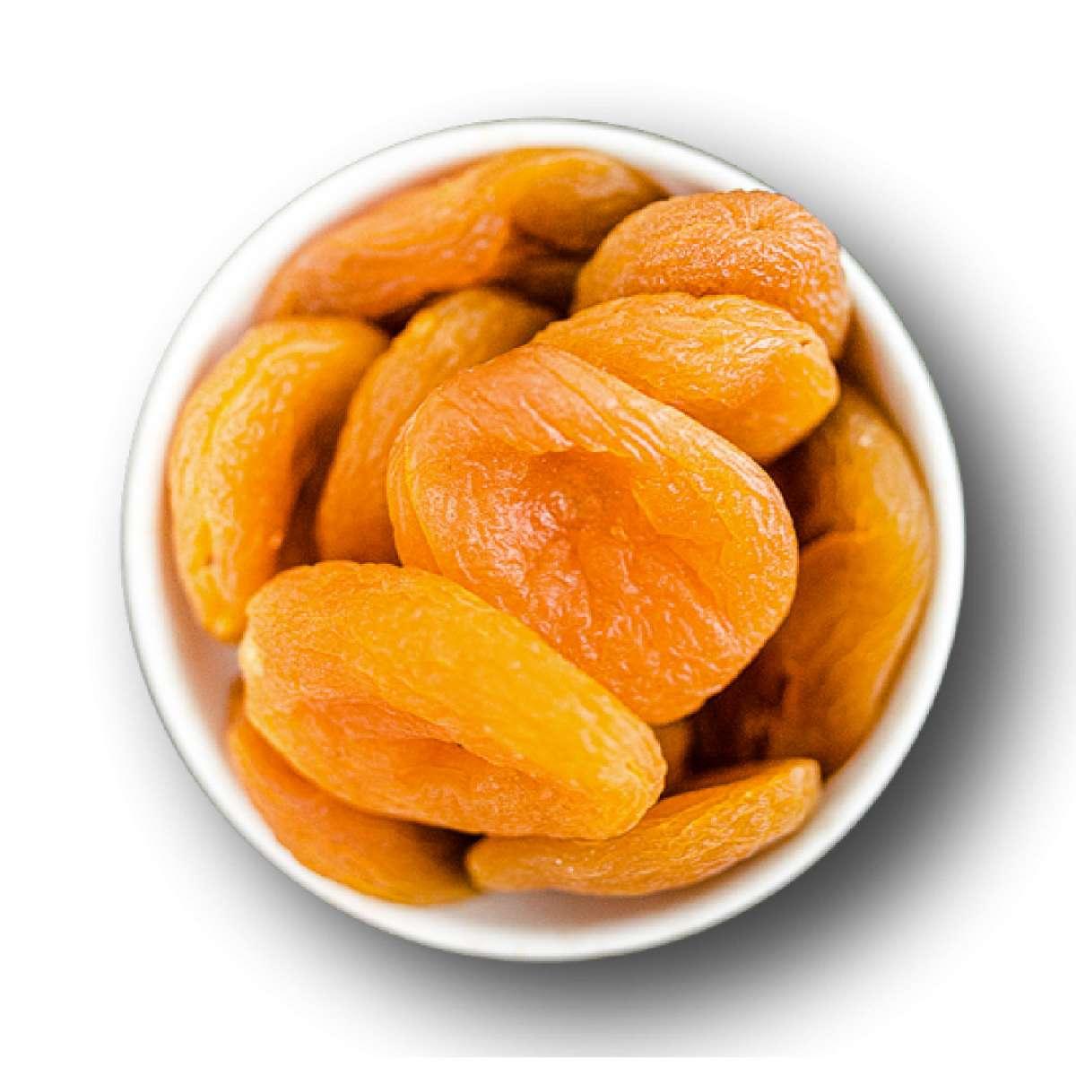 Getrocknete Aprikosen geschwefelt | Trockenfrüchte
