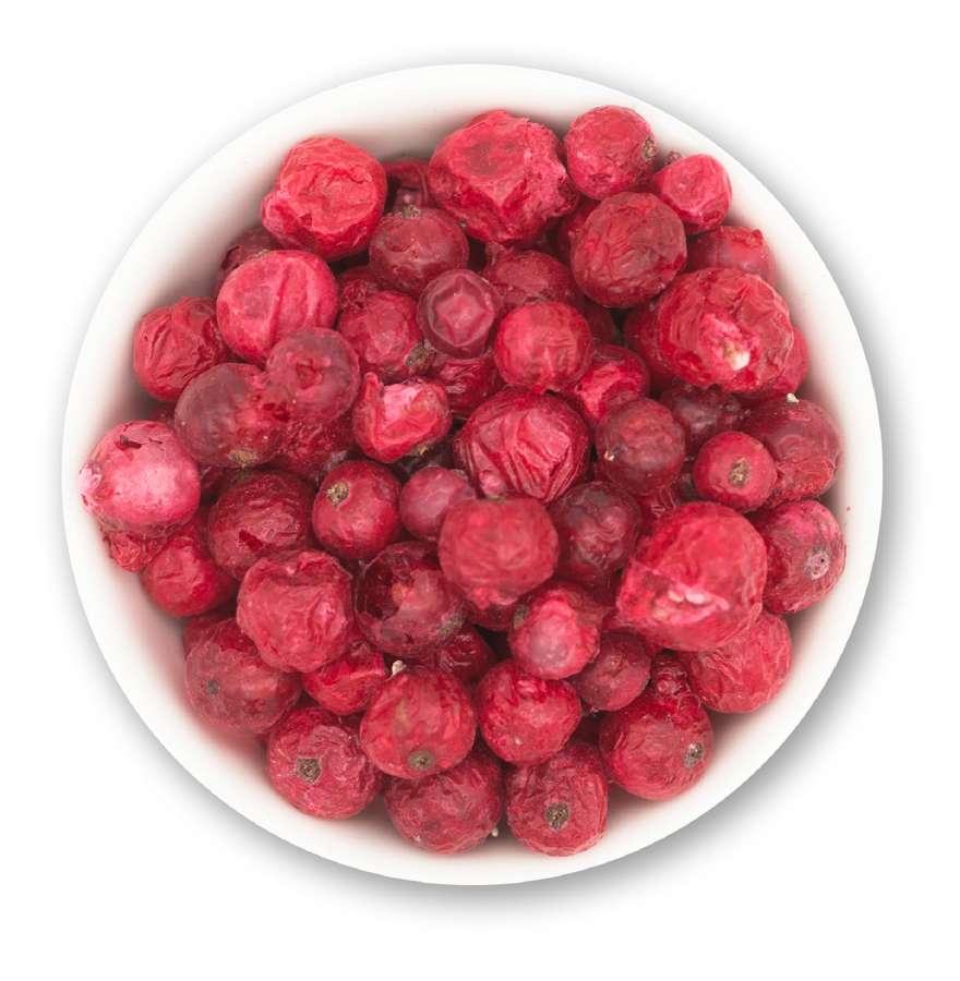 Gefriergetrocknete rote Johannisbeeren | Trockenfrüchte