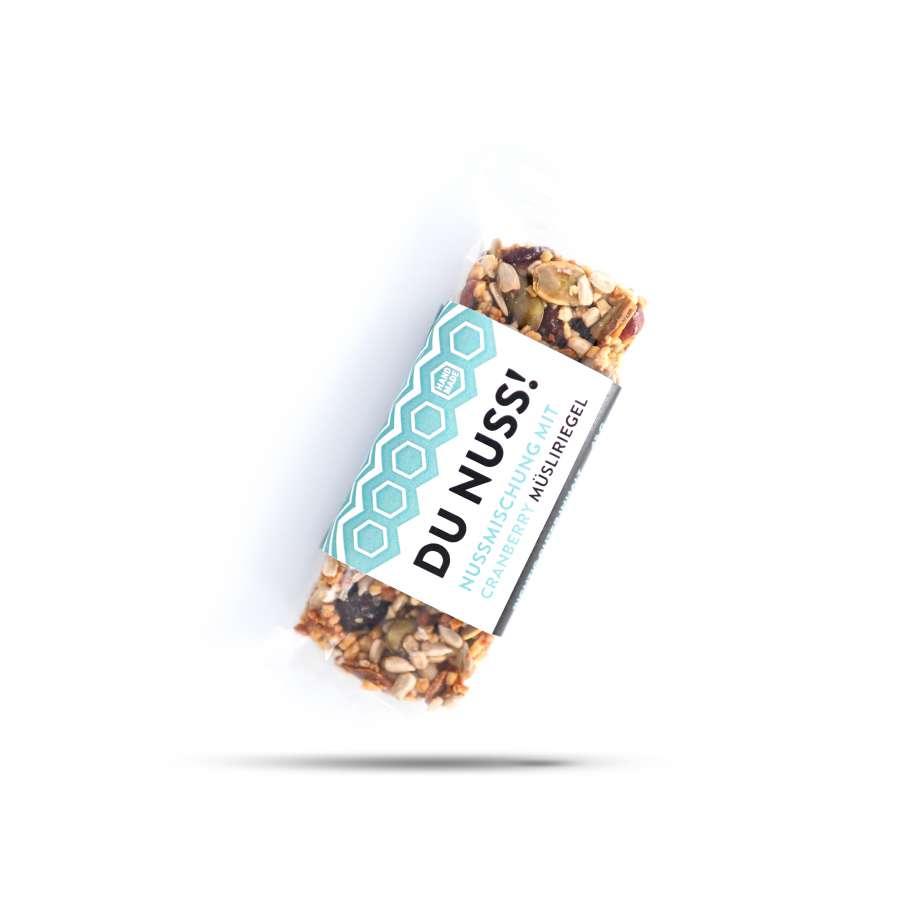 Müsliriegel mit Honig – Du Nuss | Snacks