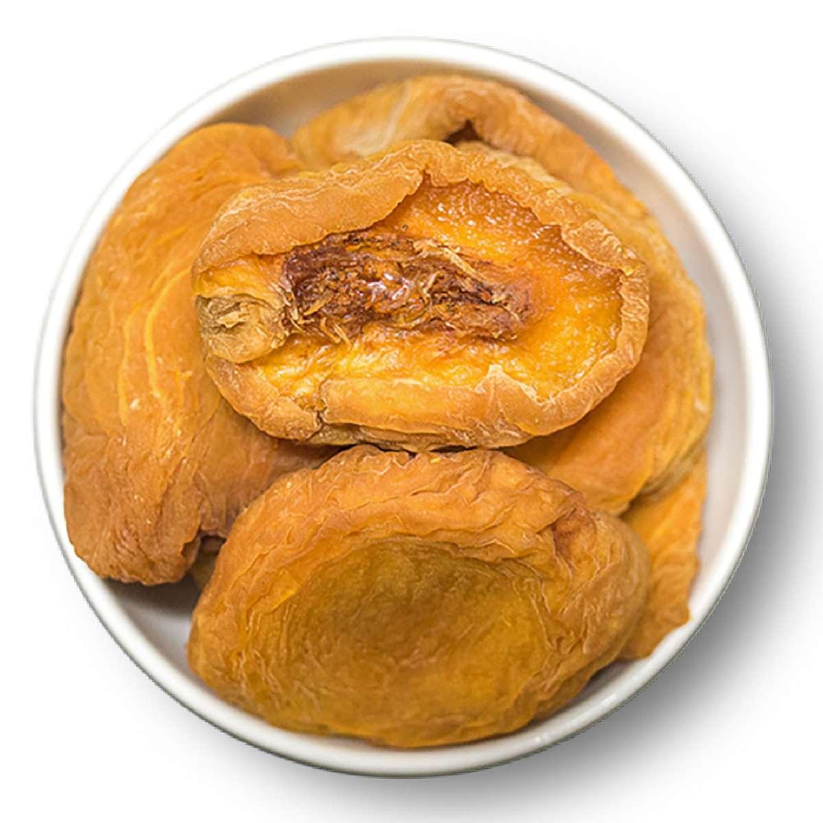 Getrocknete Pfirsiche - leicht geschwefelt | Trockenfrüchte