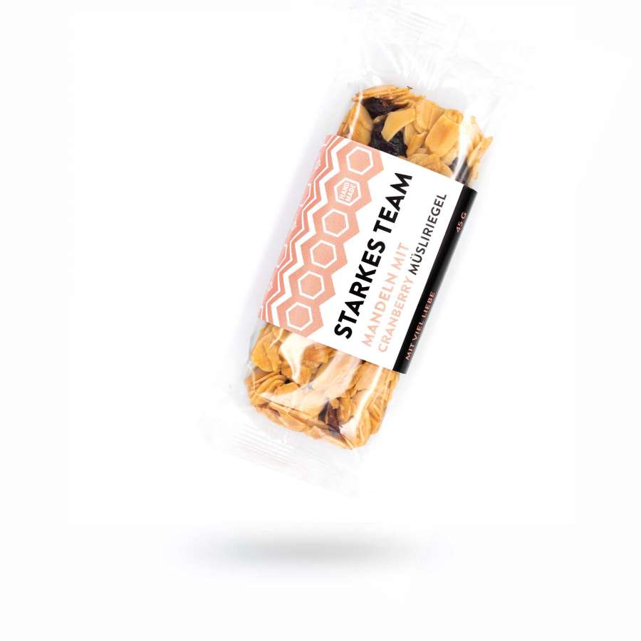 Müsliriegel mit Honig – Starkes Team | Snacks